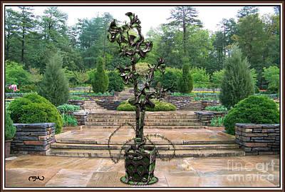 Sculpture Of A Flower 23 Original by Pemaro