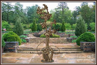 Sculpture Of A Flower 3 Original by Pemaro