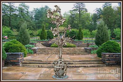 Sculpture Of A Flower 8 Original by Pemaro