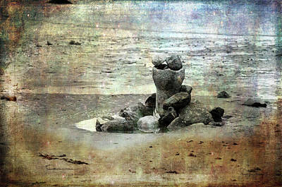 Photograph - Sculpture On The Beach by Randi Grace Nilsberg