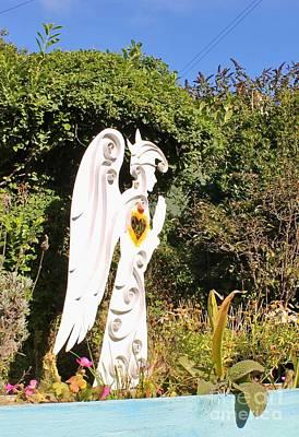 Owls - Sculpture Solva Wales by Karen Desrosiers