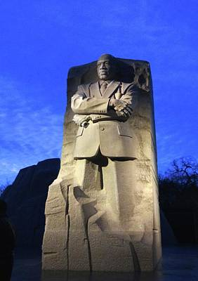 Photograph - Sculptured Profile Martin Luther King Jr. by Jenny Regan