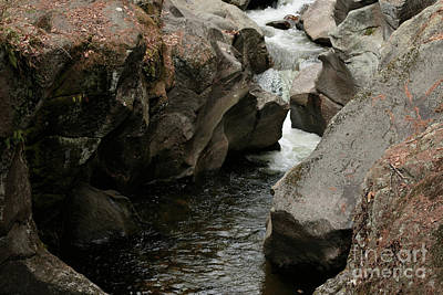 Photograph - Sculptured Rocks3 by Mim White