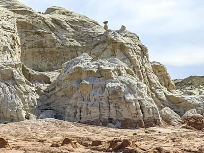 Photograph - Sculptured Sandstone Cliffs by NaturesPix