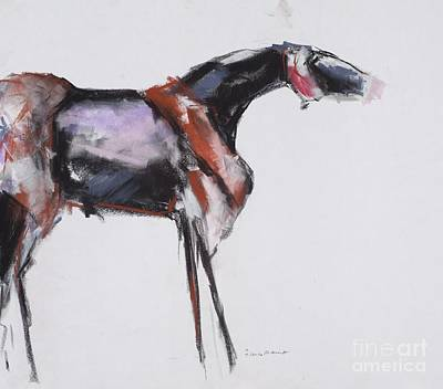 Pastel - Sculputred Horse by Frances Marino