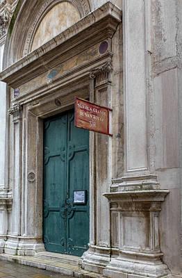 Photograph - Scuola Grande Di San Rocco by Georgia Fowler