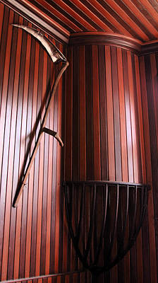 Photograph - Scythe On The Wall by Viktor Savchenko