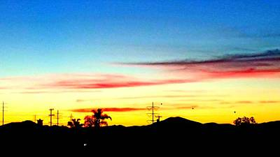 Photograph - Sd Sunrise S C by Phyllis Spoor