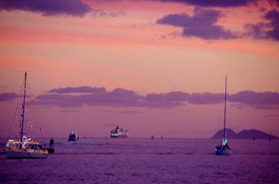Photograph - Sd Sunset 14 by Phyllis Spoor