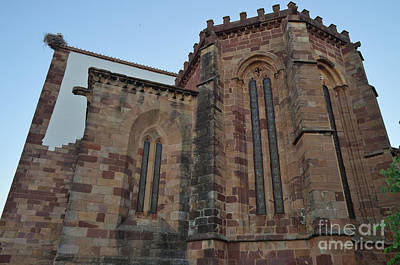 Se Church Side View In Silves Art Print by Angelo DeVal