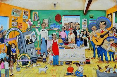 Se Murio El Muerto.  Art Print