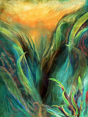 Mixed Media - Sea Abstract 3 by Carol Cavalaris