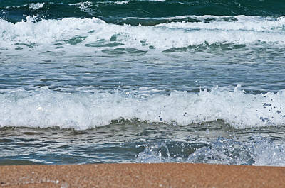 Photograph - Sea And Beach Colors 2 by Pedro Cardona