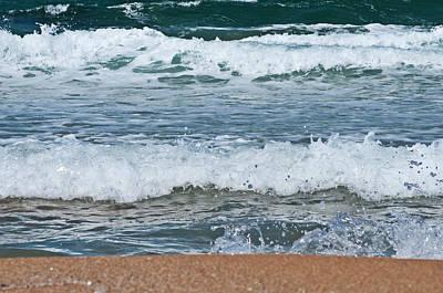 Photograph - Sea And Beach Colors 2 by Pedro Cardona