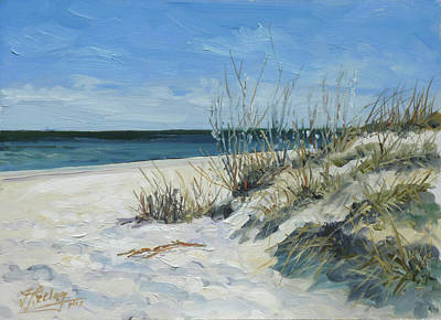 Painting - Sea Beach 1 - Baltic by Irek Szelag