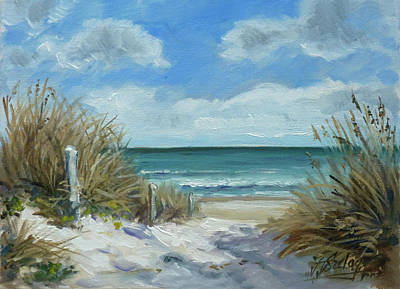 Painting - Sea Beach 11 - Baltic by Irek Szelag