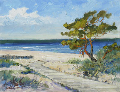 Painting - Sea Beach 6 - Baltic by Irek Szelag