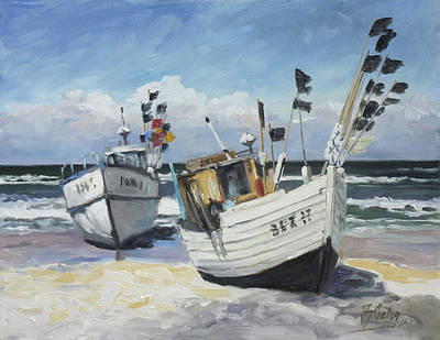 Painting - Sea Beach 9 - Baltic by Irek Szelag