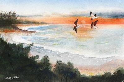 Sea Birds Art Print by Bobby Walters