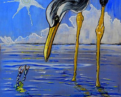 Water Theme Painting - Sea Birds by W Gilroy