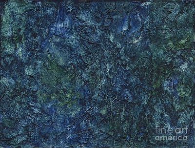 Painting - Sea Blue, Sea Green by Conni Schaftenaar