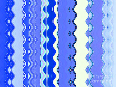 Aqua Condominiums Photograph - Sea Blue Wave Tapestry by Ann Johndro-Collins