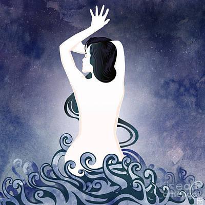 Sea Born Art Print