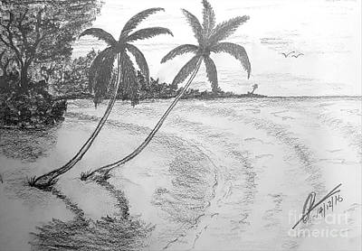 Sea Breeze  Art Print by Collin A Clarke