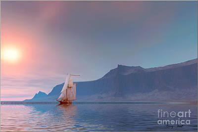 Boating Digital Art - Sea Breeze by Corey Ford