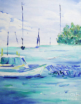 Painting - Sea Breeze by Joseph Palotas