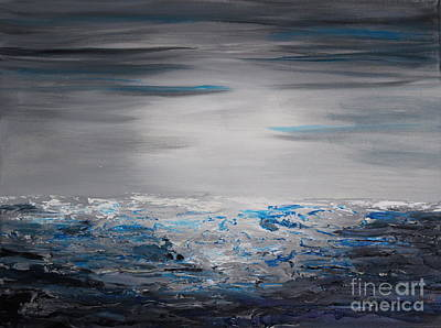 Painting - Sea Breeze by Preethi Mathialagan