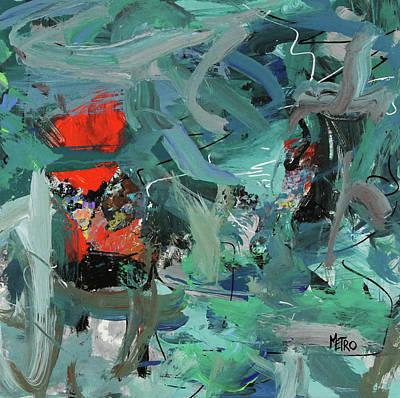Painting - Sea Buoys by Metro Meteor