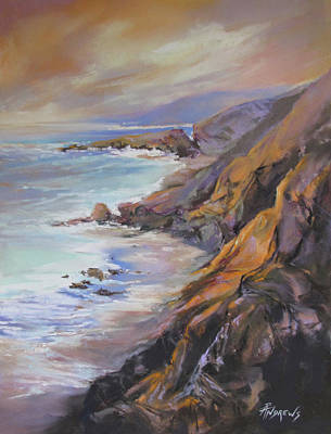 Painting - Sea Cliff Haze by Rae Andrews