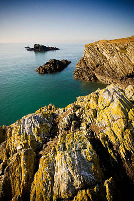 Photograph - Sea Cliffs, Rhoscolyn by Peter OReilly