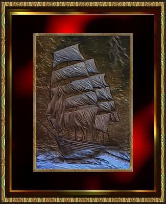 Relief - Sea Clipper by Mario Carini