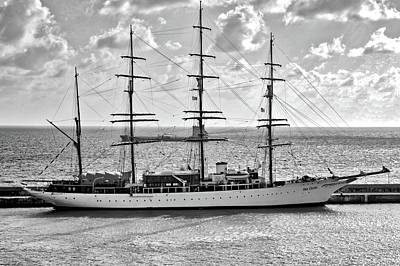 Photograph - Sea Cloud Sailboat by Kirsten Giving