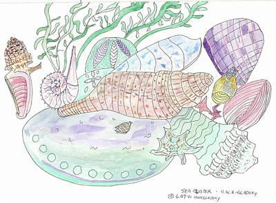 Sea Cluster Art Print