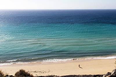 Photograph - Sea Colors Of Fuerteventura by Pietro Ebner