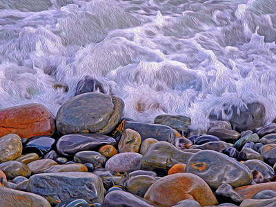 Photograph - Sea Covers All  by Lynda Lehmann