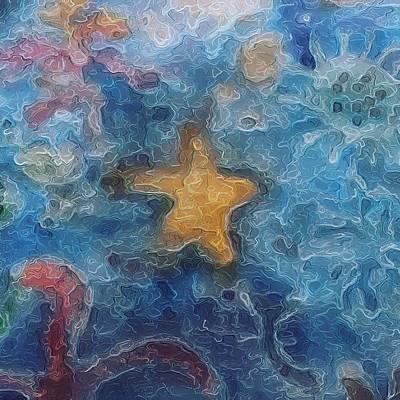 Sea Creatures 2 Art Print