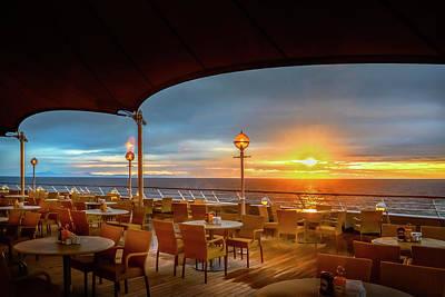 Photograph - Sea Cruise Sunrise by John Poon