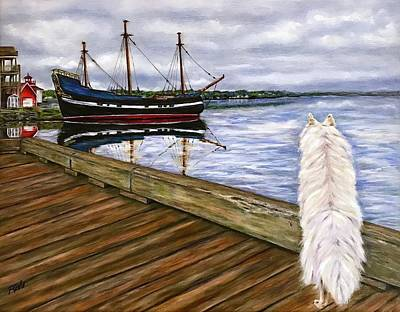 Painting - Sea Dog by Dr Pat Gehr