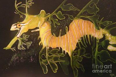 Sea Dragon Art Print by Carol Northington