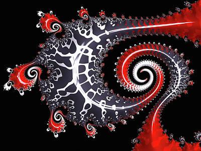 Digital Art - Sea Dragon by Susan Maxwell Schmidt