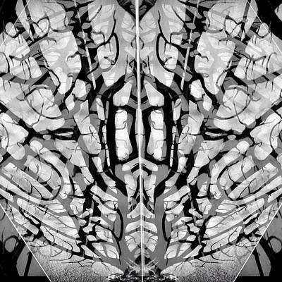 Photograph - Sea Fan Abstract by Patricia E Sundik