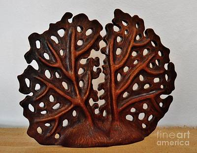 Ceramic Art - Sea Fan by Paula Ludovino