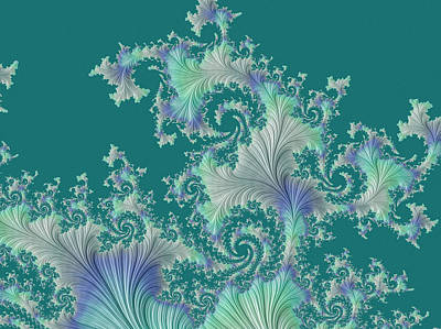 Digital Art - Sea Fan by Susan Maxwell Schmidt
