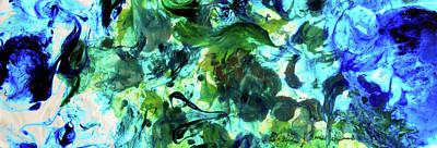 Sea Flourish Art Print