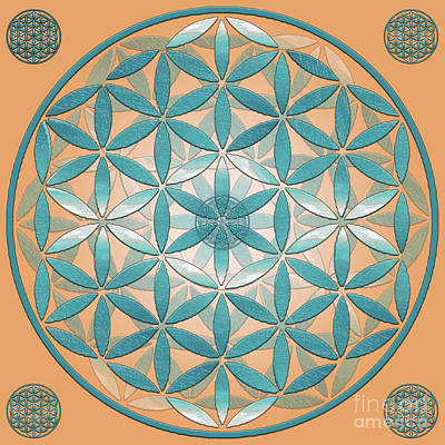 Sea Flower Of Life Original