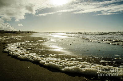 Photograph - Sea Foam by Nick Boren